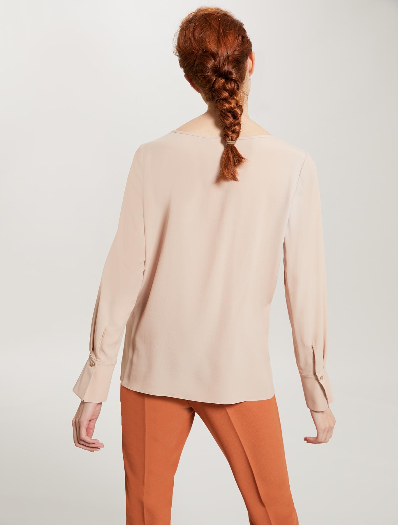Crepe de chine blouse - pink - pennyblack