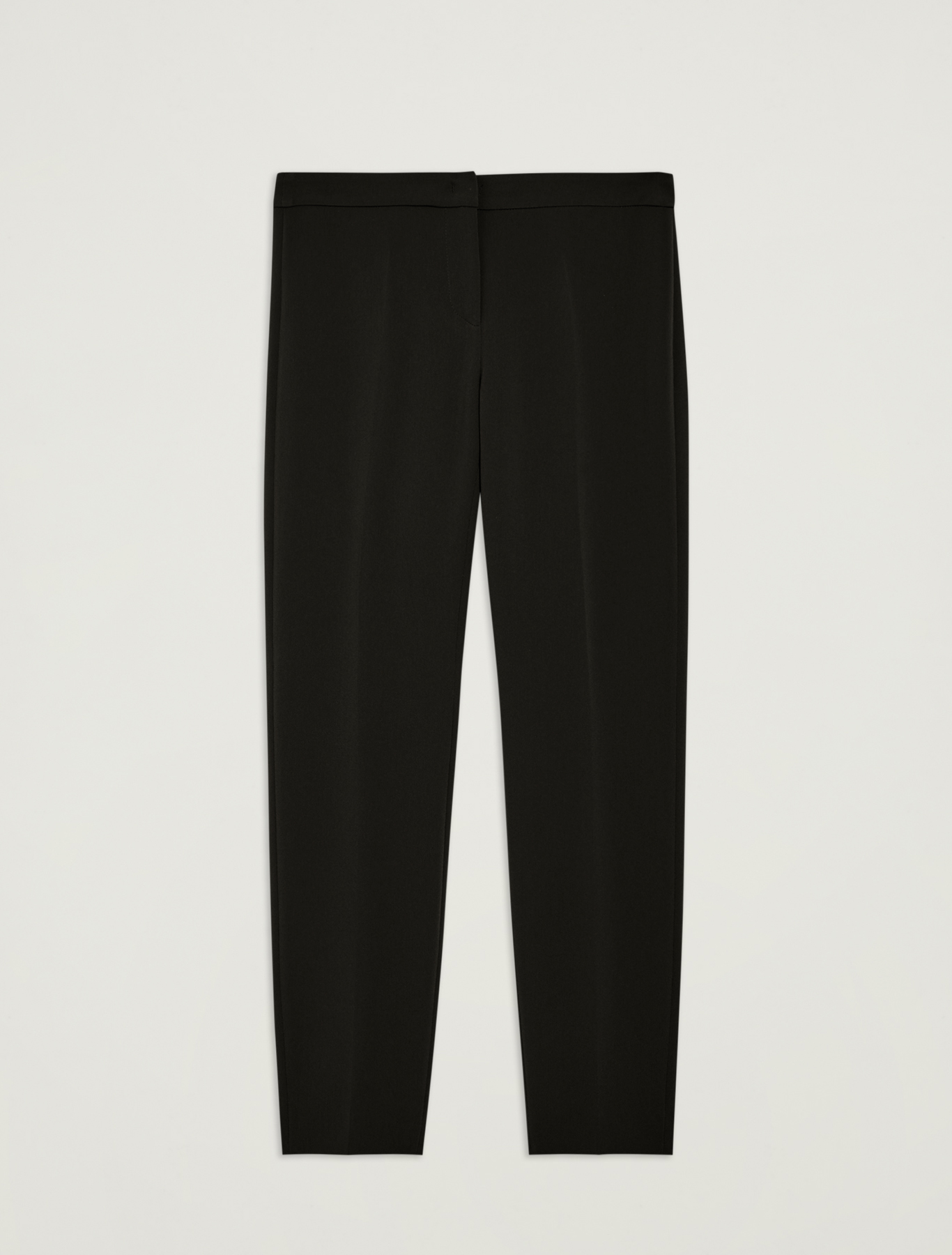 Slim fit fluid trousers - black - pennyblack