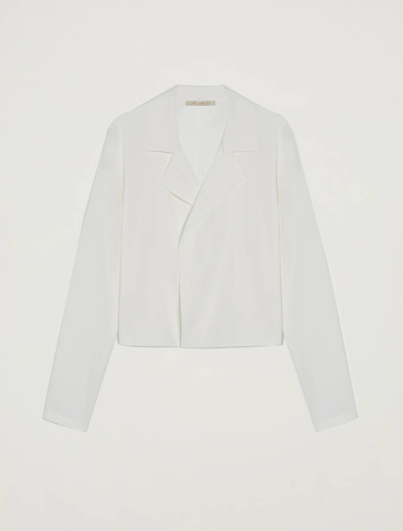 Lightweight deconstructed jacket - ivory - pennyblack