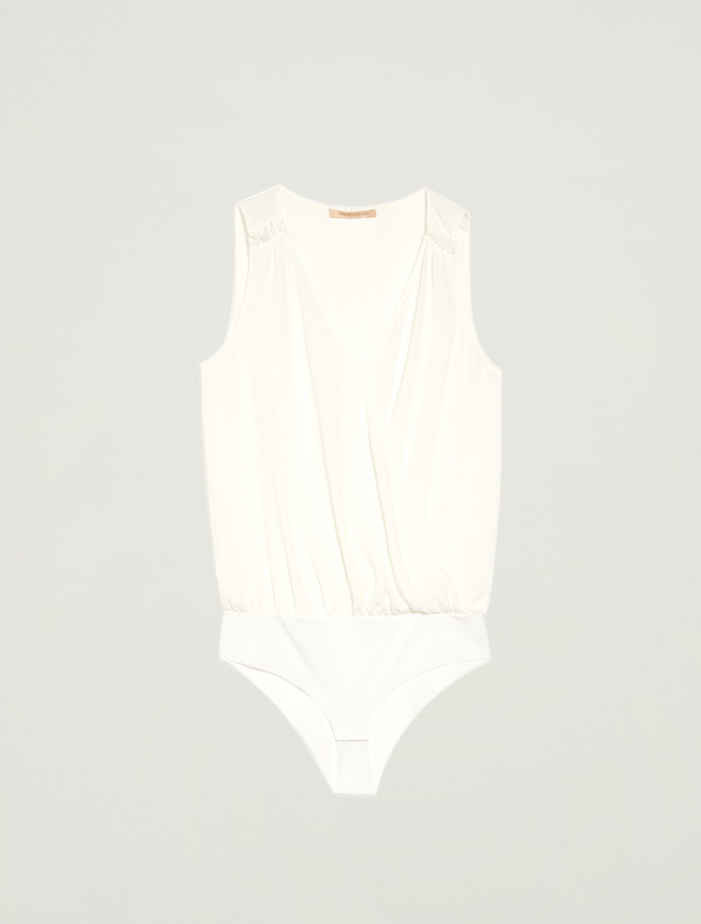 Crossover bodysuit - ivory - pennyblack