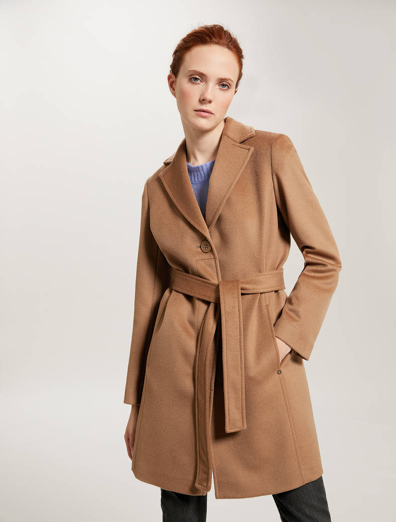 Pure wool coat - camel - pennyblack