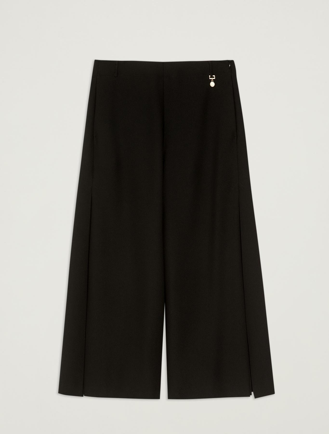 Pleated culottes - black - pennyblack
