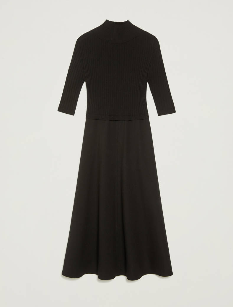 Jersey knit dress - black - pennyblack