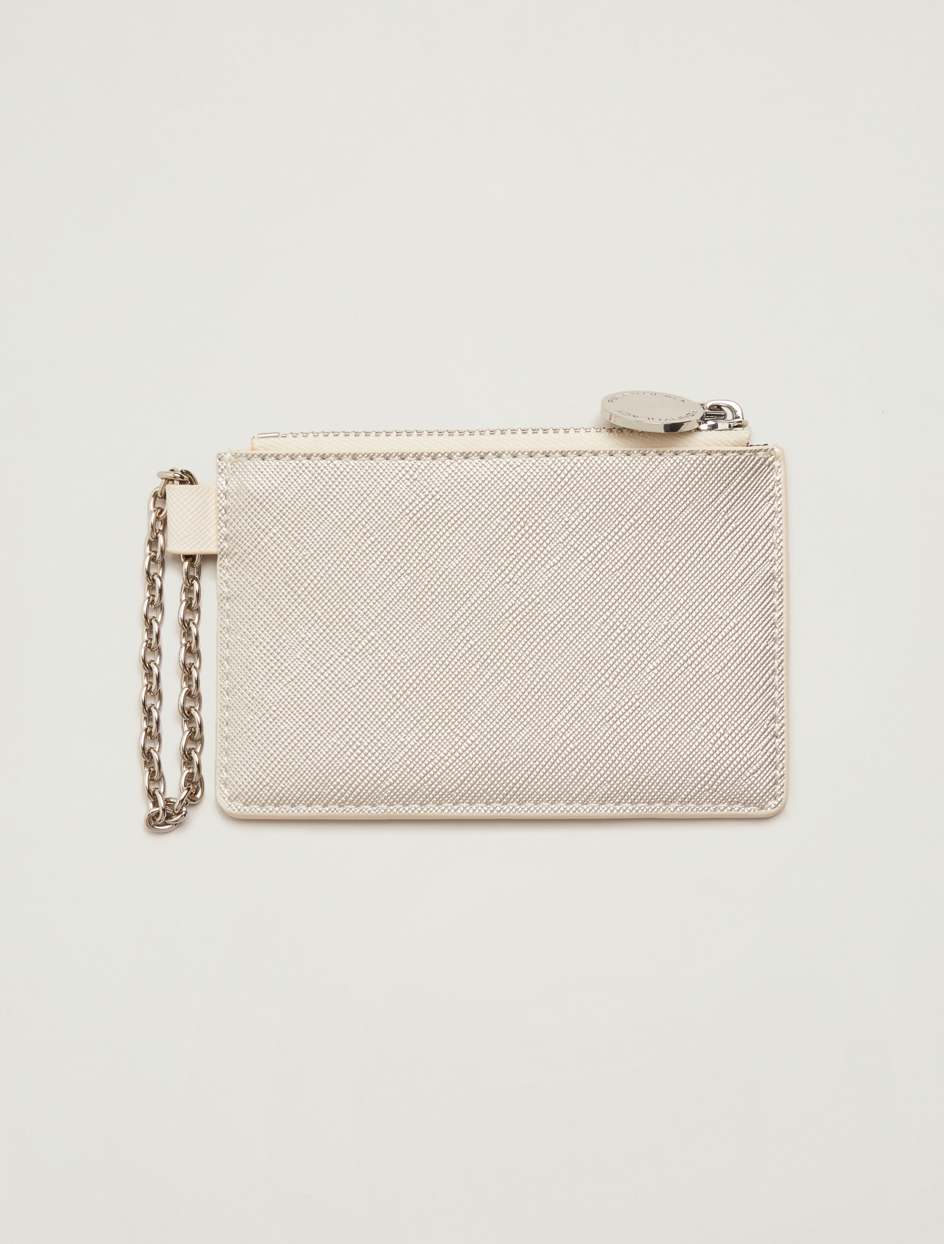Key ring with card holder - ivory - pennyblack