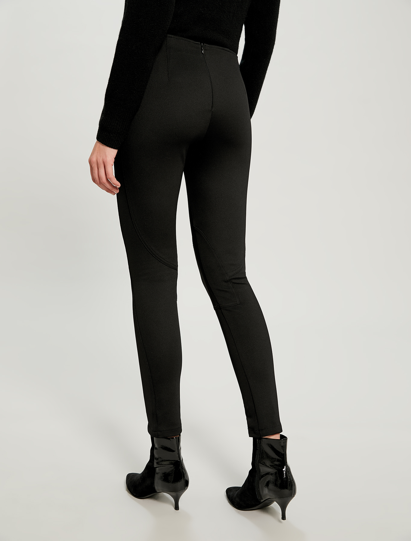 Skinny fit riding trousers - black - pennyblack