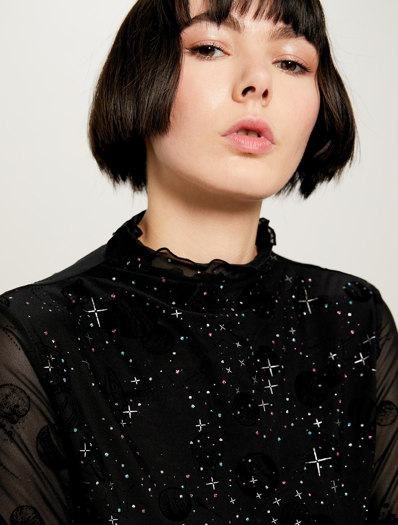Cosmic Dream @labigotta tee - black - pennyblack