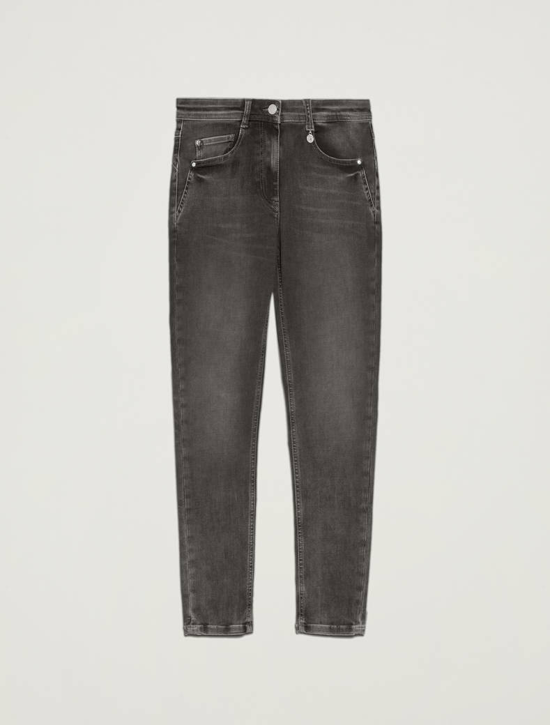 Jeans skinny fit super-stretch - nero - pennyblack