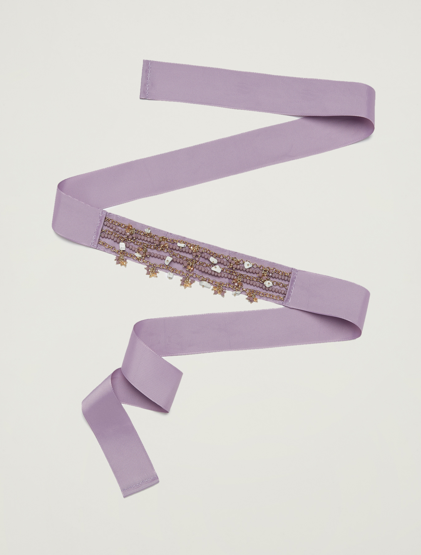 Chain and pendant belt - lilac - pennyblack