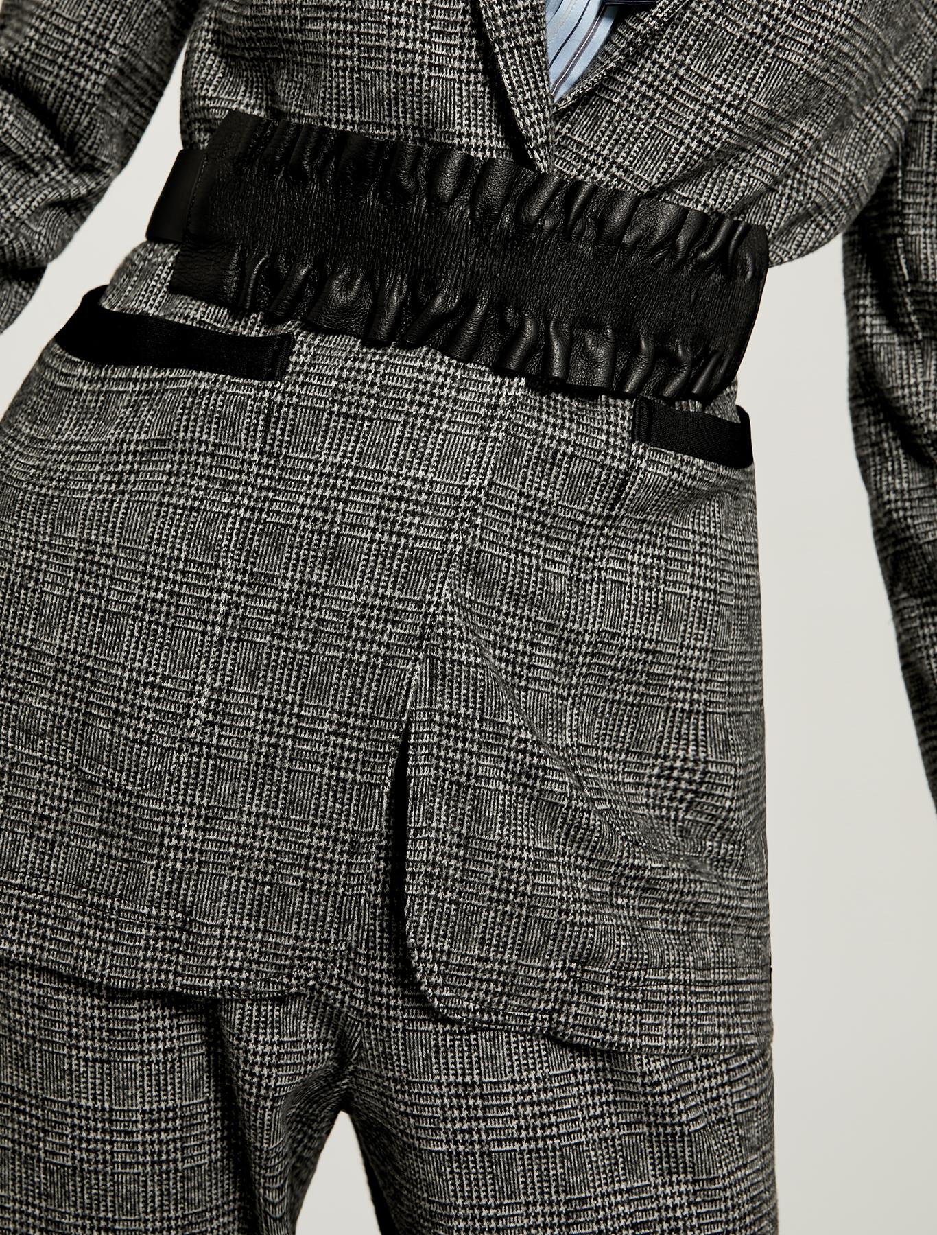 Cintura con ruche staccabile - nero - pennyblack