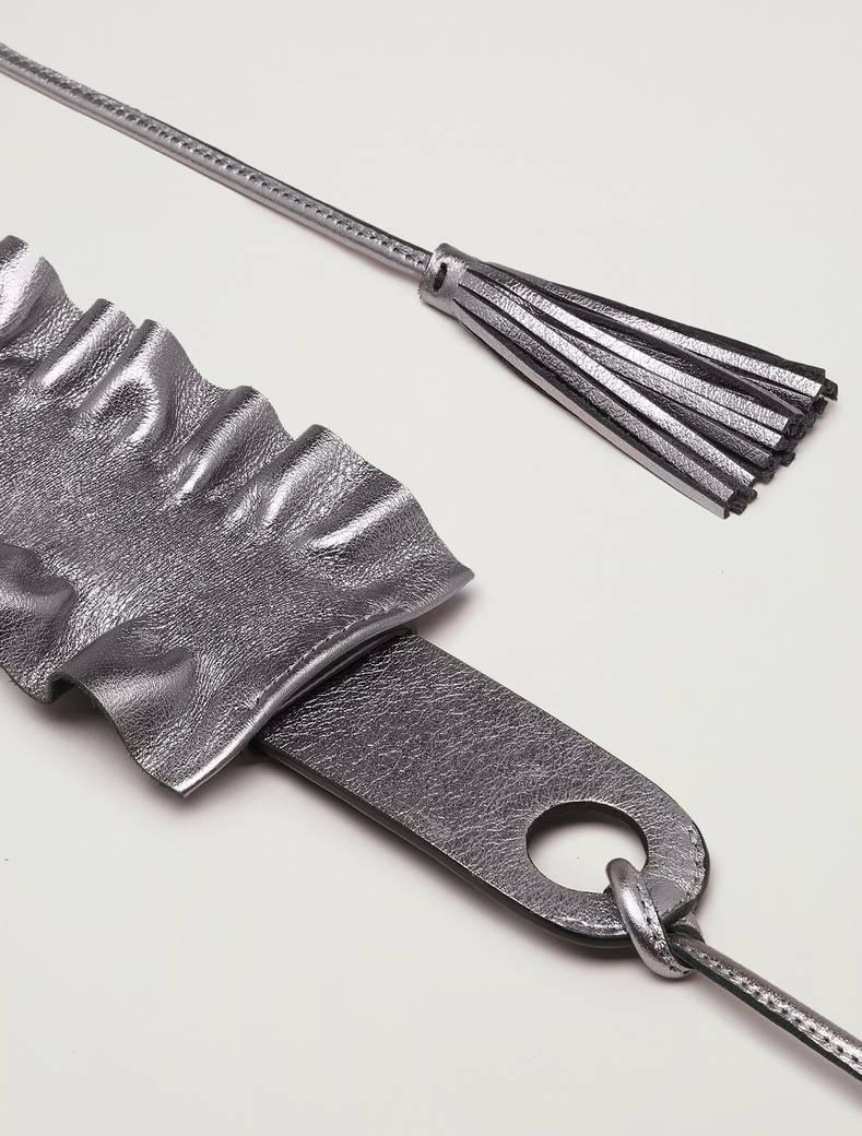 Cintura con ruche staccabile - grigio scuro - pennyblack