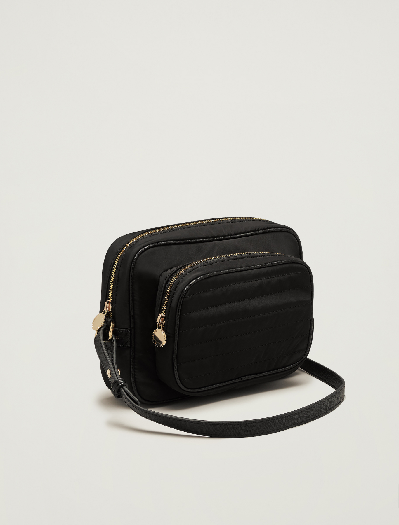 Shoulder bag in technical fabric - black - pennyblack
