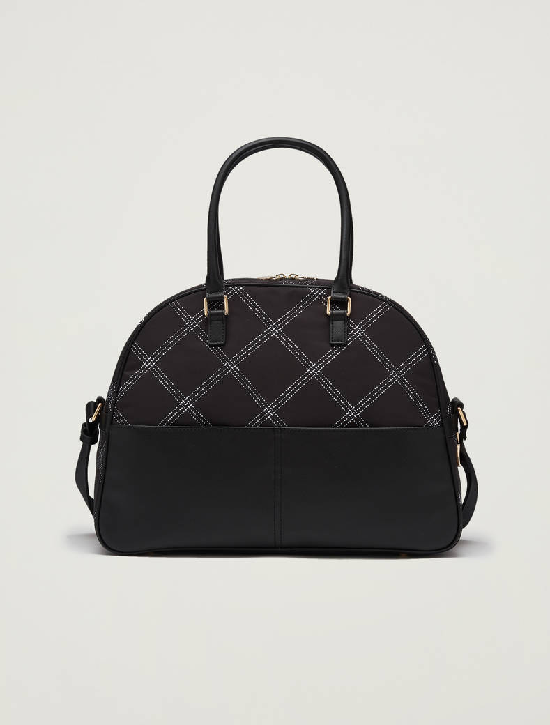 Printed bowling bag - black - pennyblack