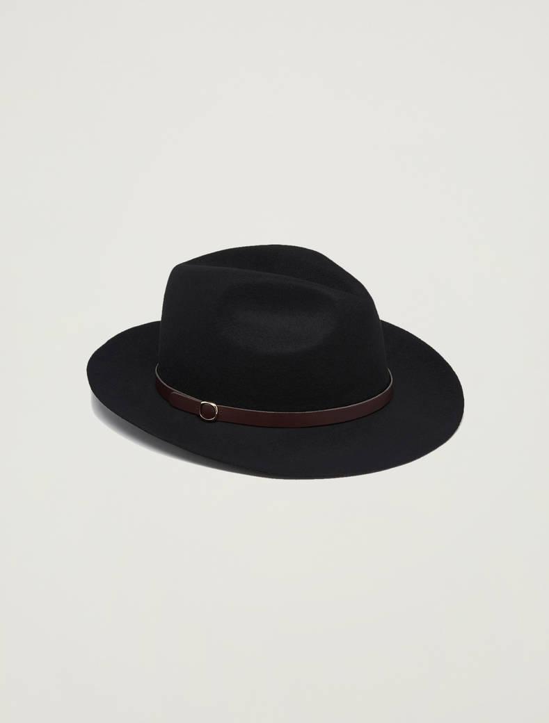 Cappello gaucho in feltro - nero - pennyblack