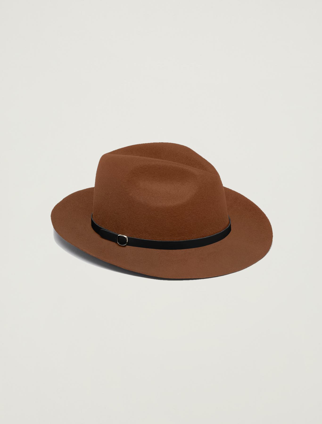 Felt gaucho hat - tan - pennyblack