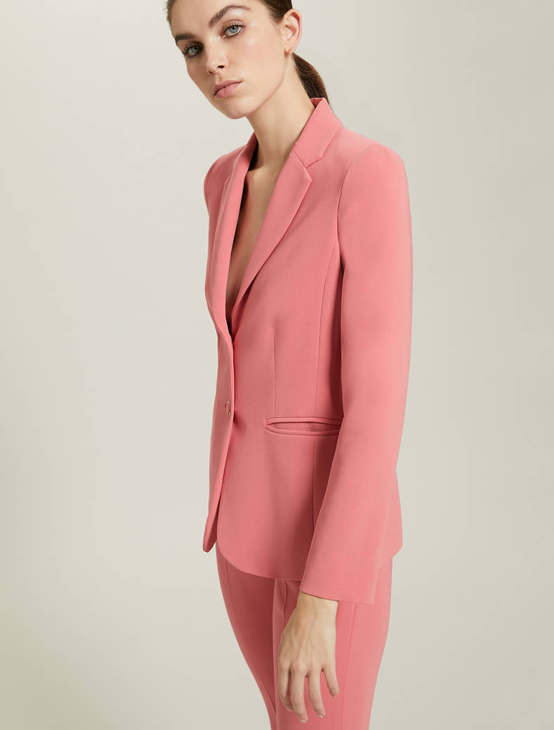 Slim, two-button blazer - old rose - pennyblack