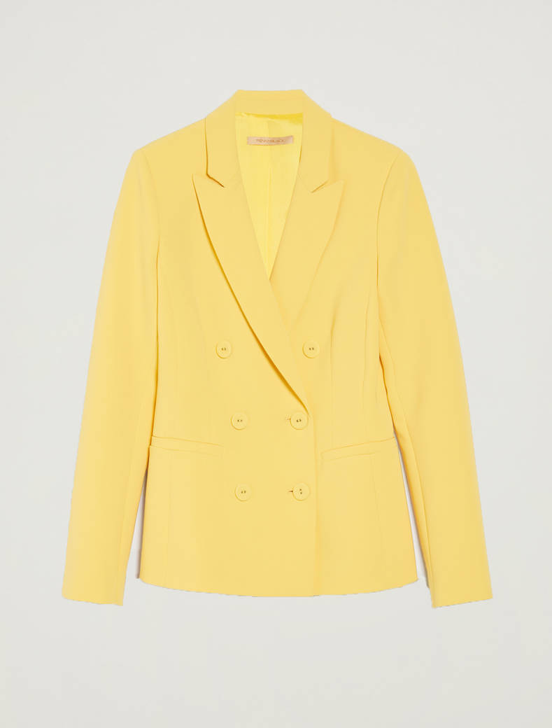 Blazer doppiopetto slim fit - giallo sole - pennyblack