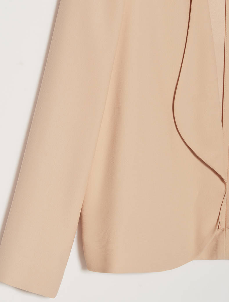 Envers satin jacket - beige - pennyblack