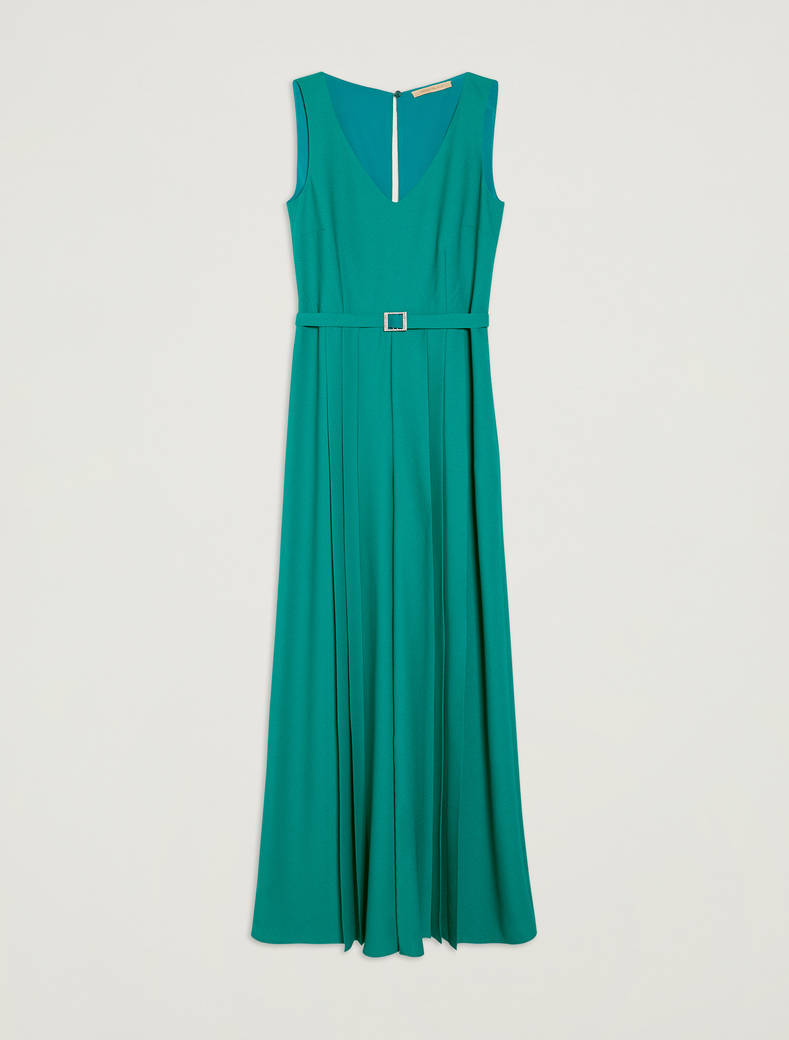 Envers satin jumpsuit - emerald green - pennyblack