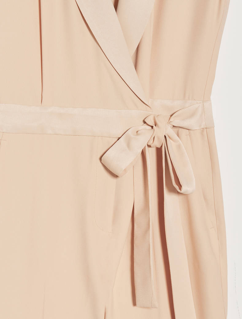 Tuta in envers satin - beige - pennyblack