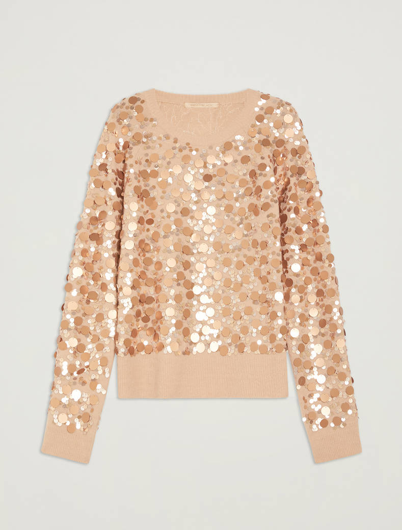 Sequinned jumperSequinned jumper - pink - pennyblack