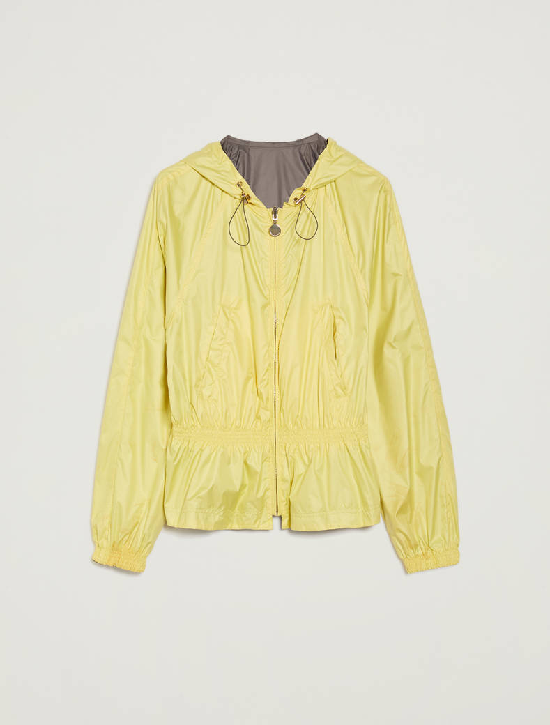 Reversible jacket in technical fabric - sunshine yellow - pennyblack