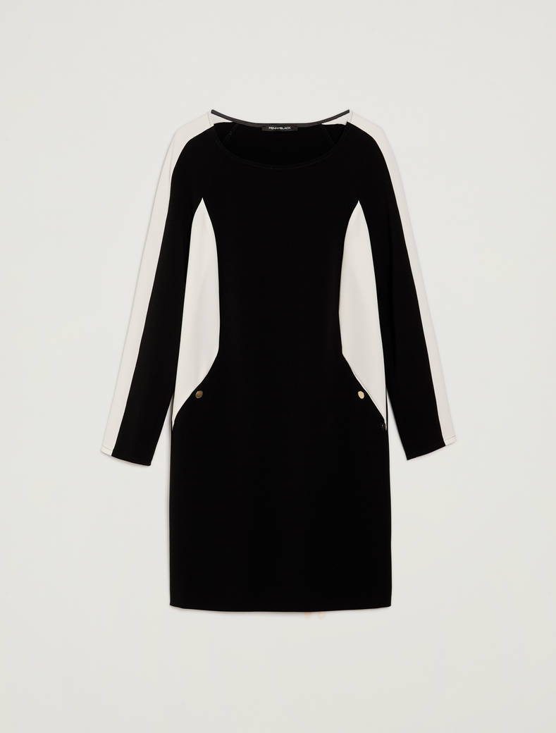 Colour block dress - black - pennyblack