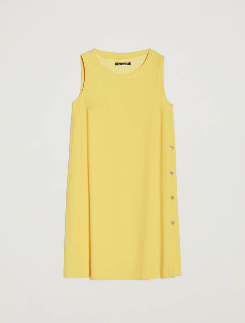 Flowing tunic dress - sunshine yellow - pennyblack