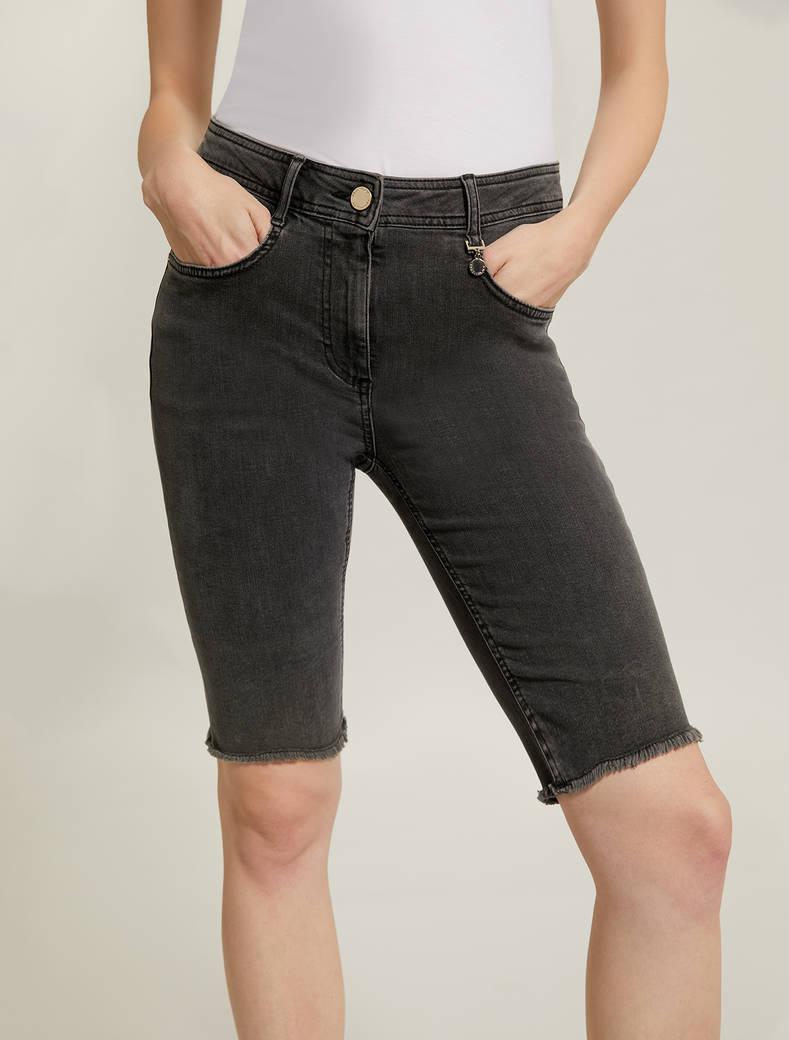 Short skinny jeans - black - pennyblack