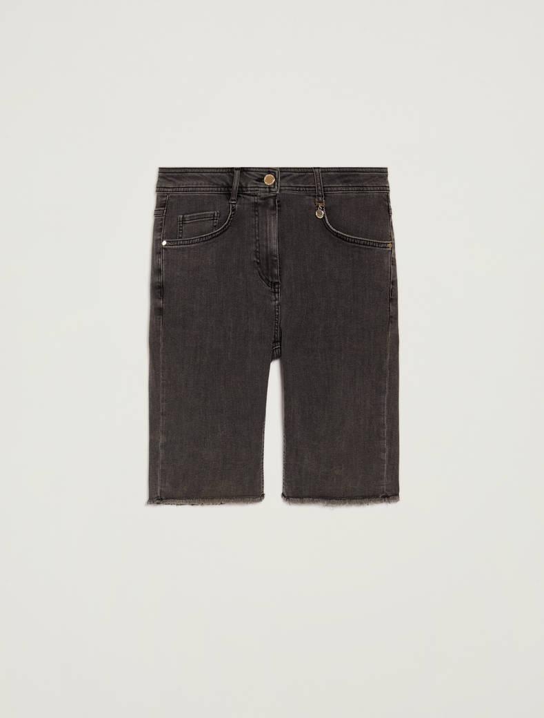 Short skinny jeans - nero - pennyblack