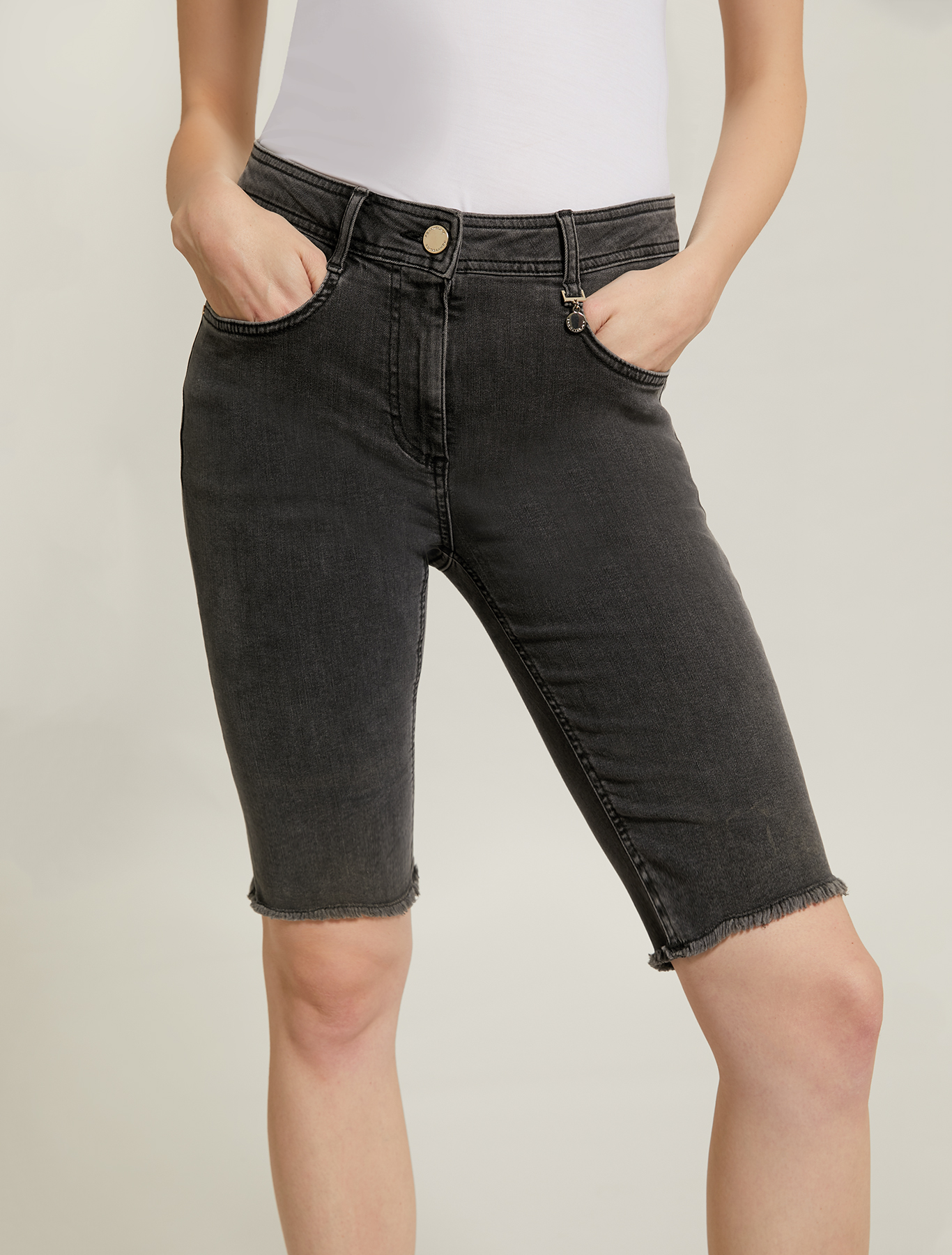 Write out Snack compile  Short skinny jeans, black - Pennyblack