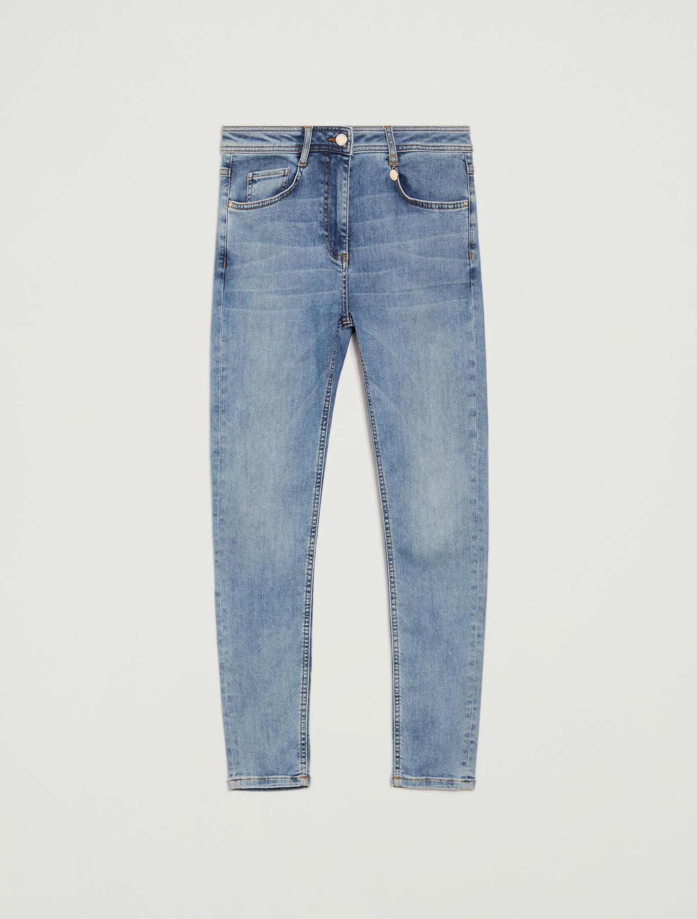 Super-stretch skinny jeans - midnight blue - pennyblack
