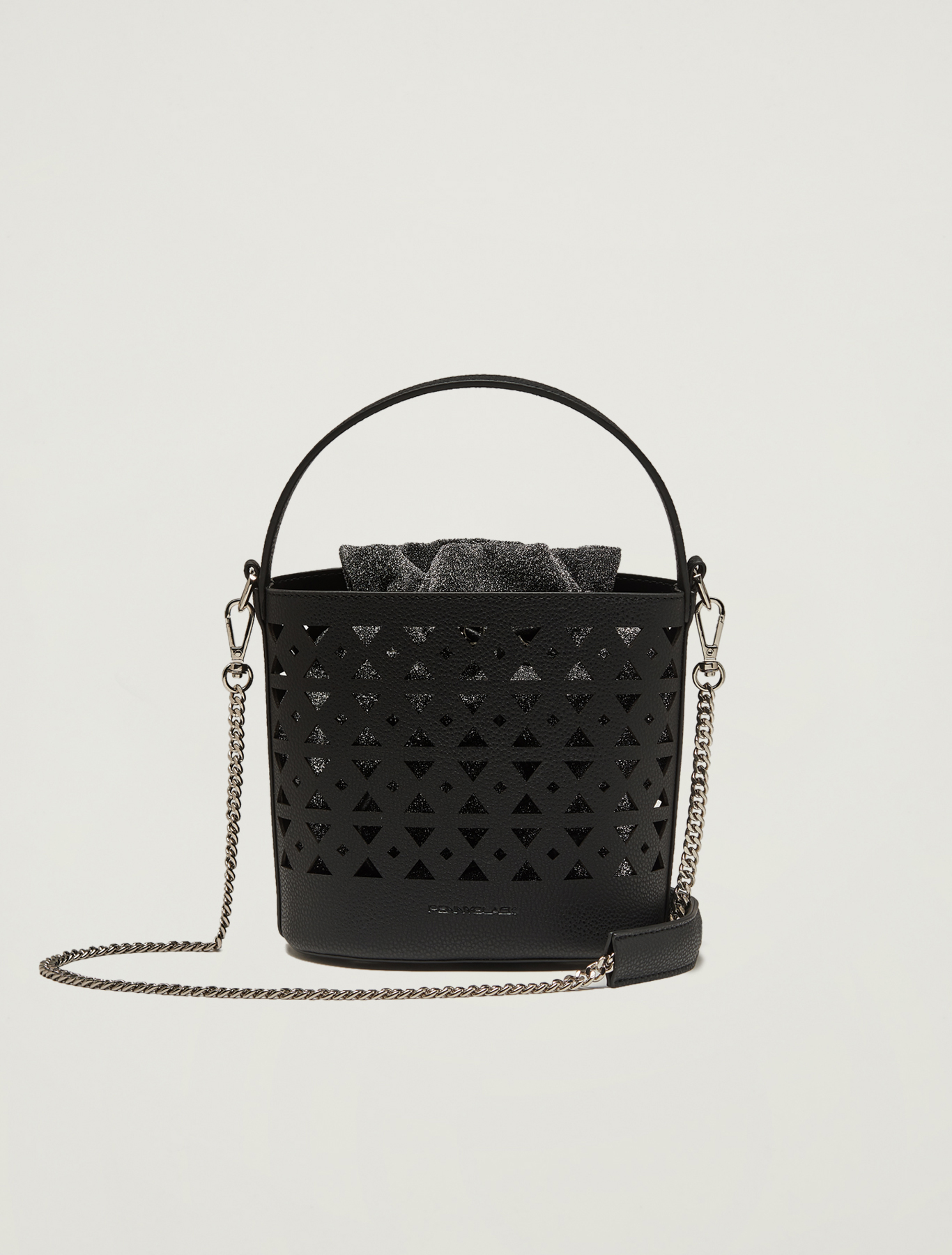 Convertible bucket bag - black - pennyblack