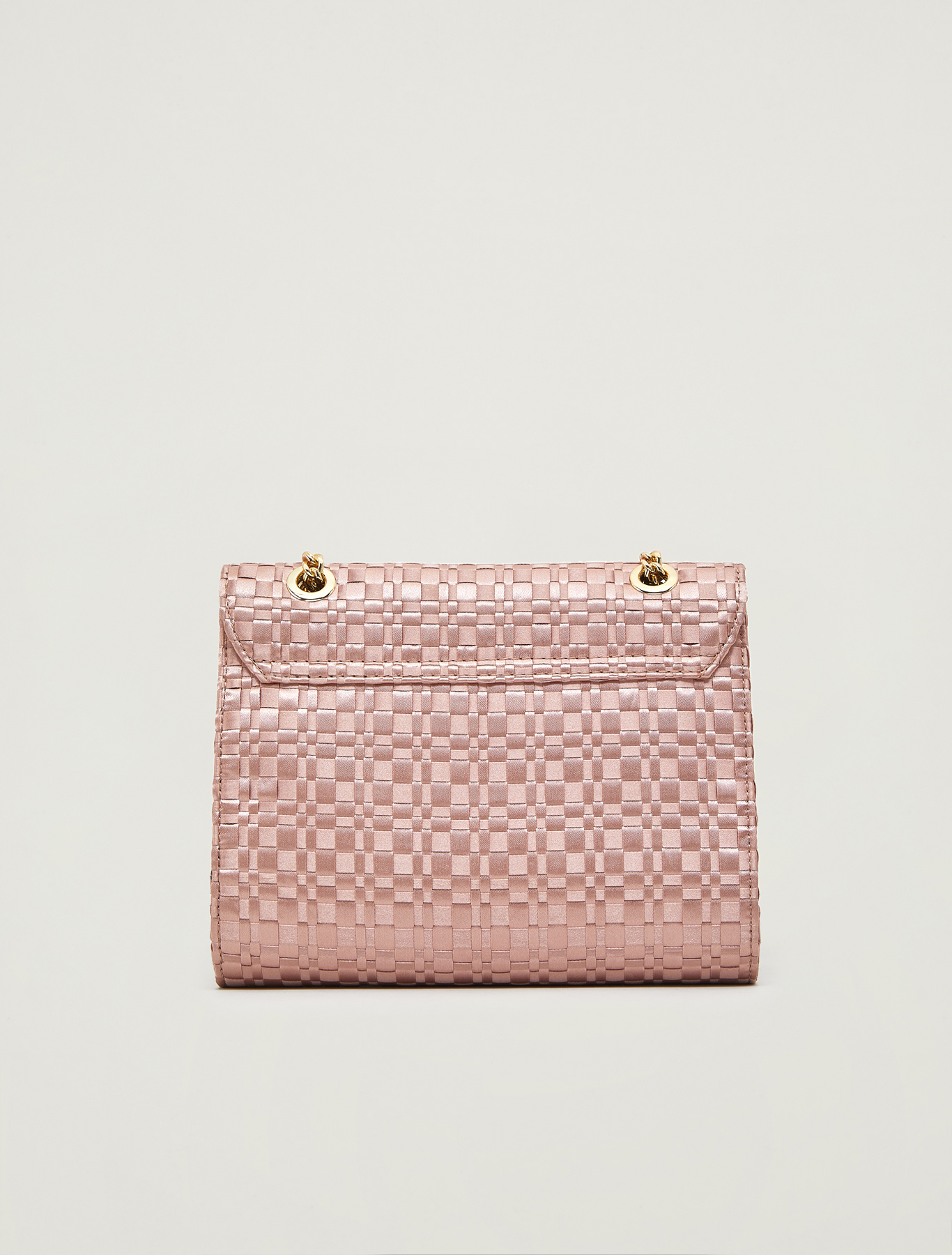 Bag in woven satin - old rose pattern - pennyblack