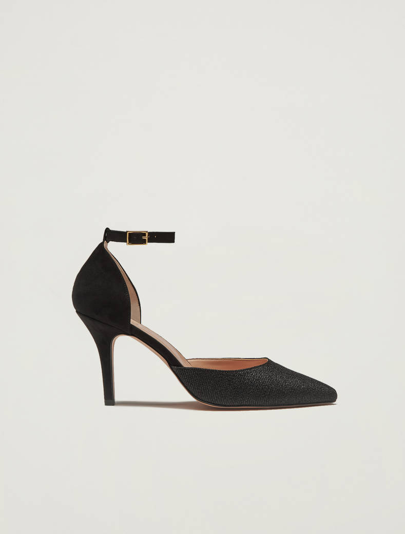 Pumps in lamé - nero - pennyblack