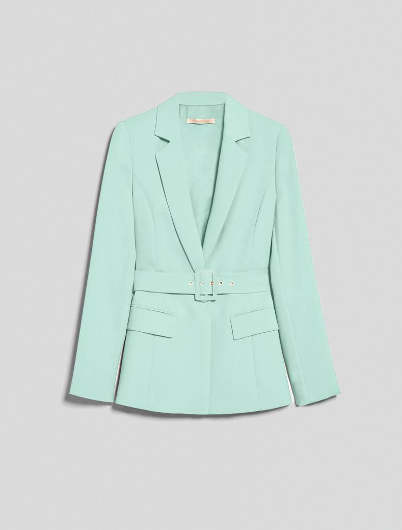 Envers satin blazer - pastel green - pennyblack