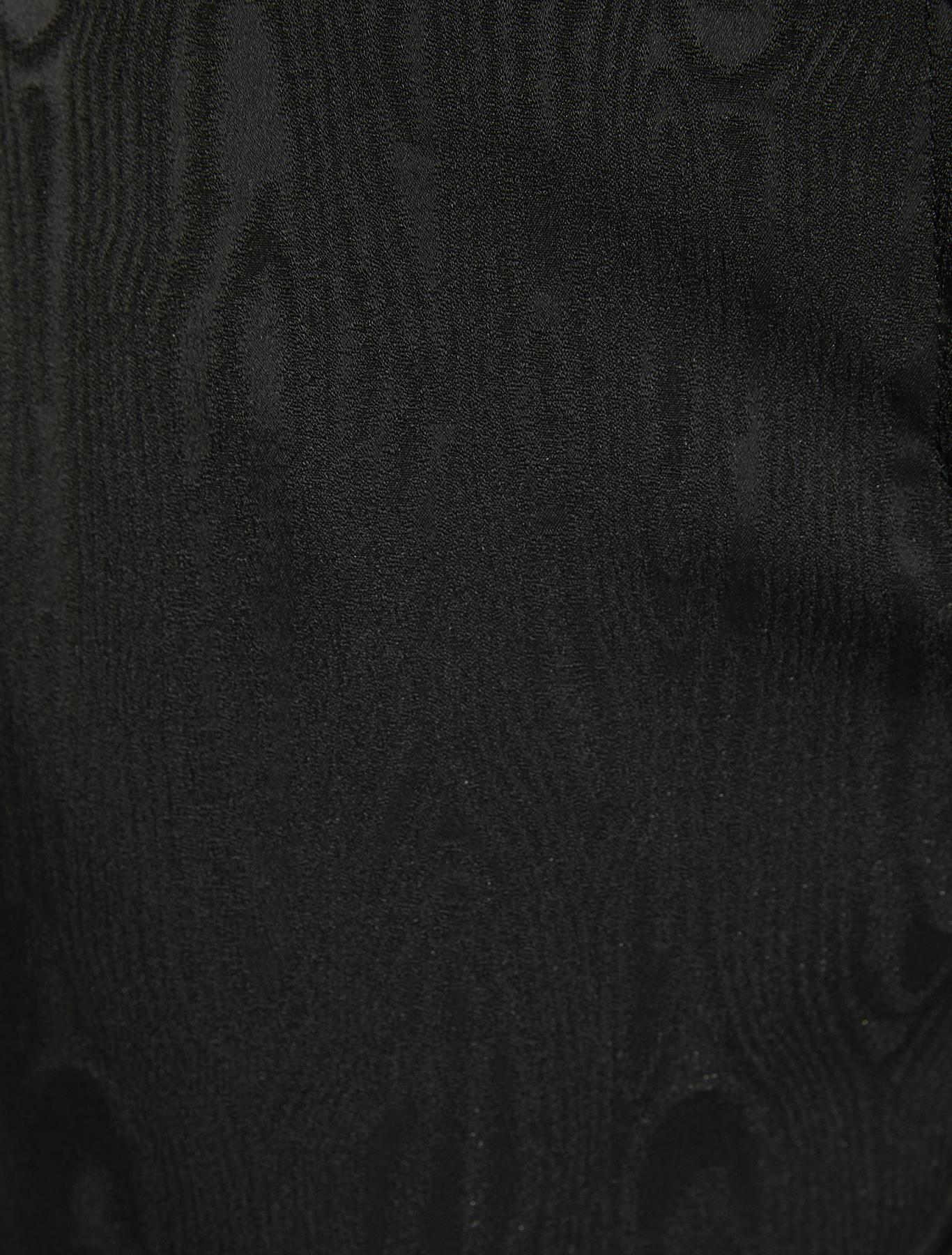Moiré trousers - black - pennyblack
