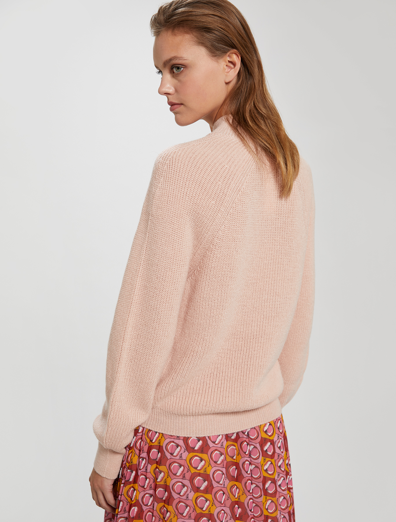 Electric Feel by Spiros Halaris embroidered jumper - pink - pennyblack