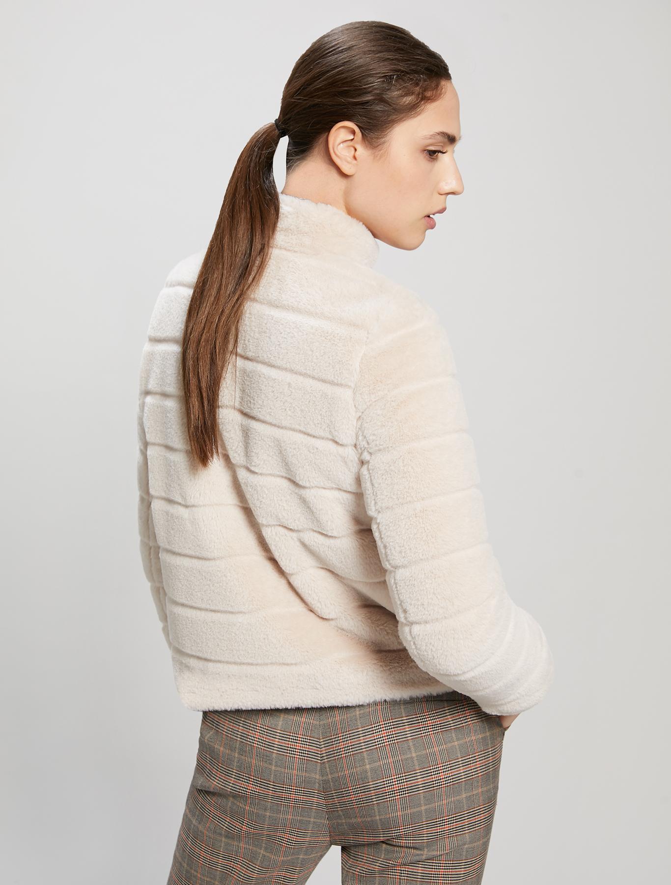 Plush jacket - ivory - pennyblack
