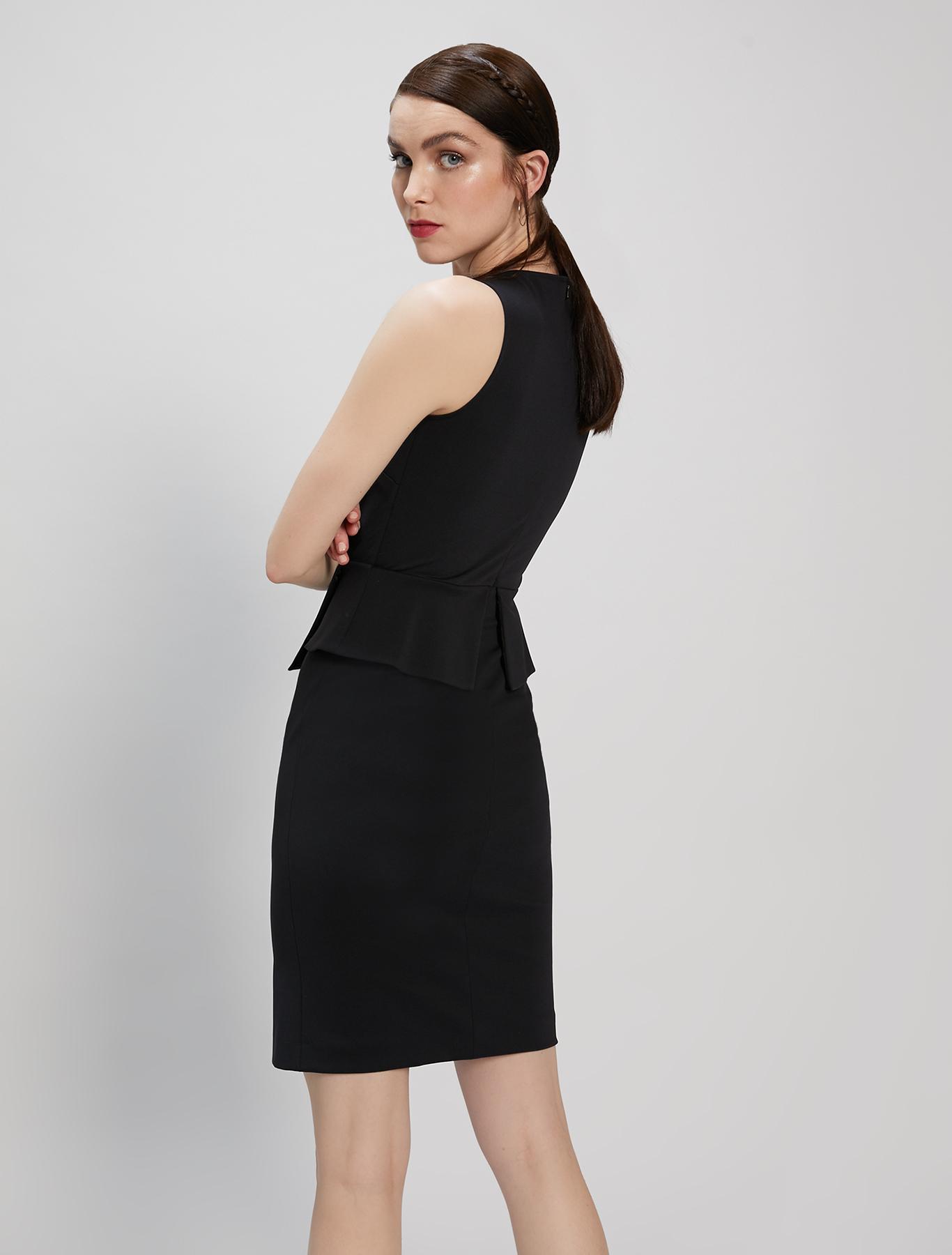Jersey sheath dress - black - pennyblack