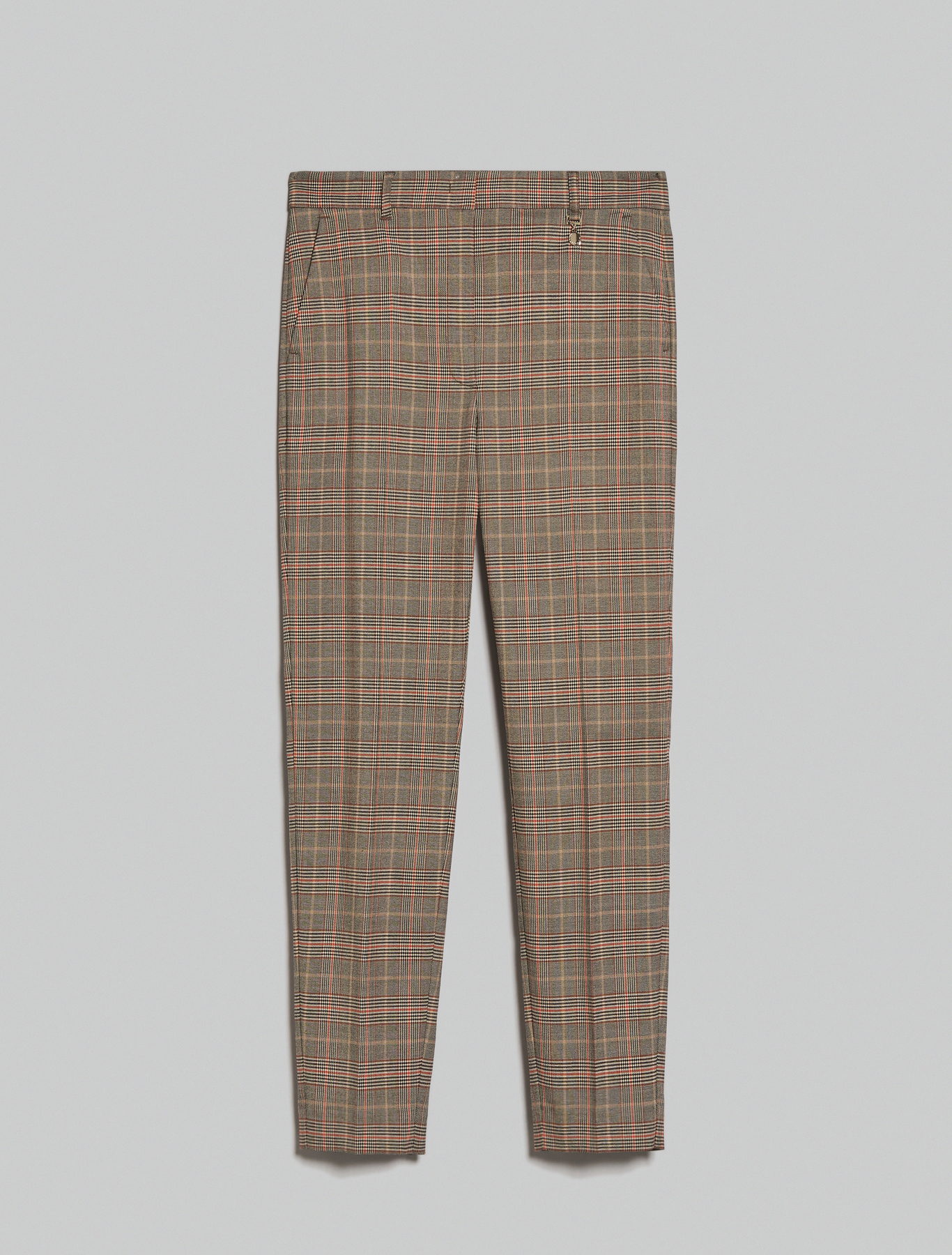 Slim-fit trousers - camel pattern - pennyblack
