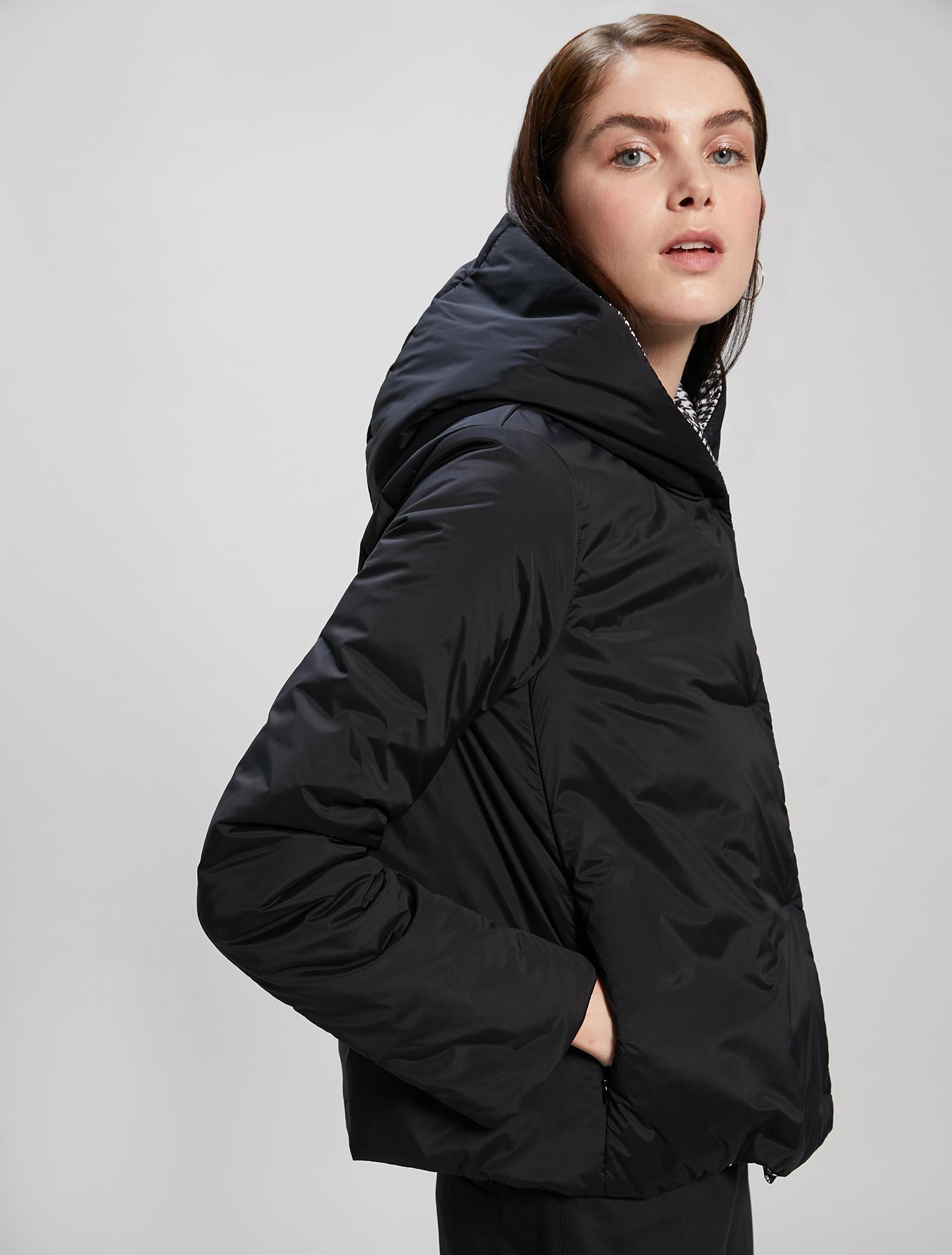 Reversible padded jacket - black - pennyblack