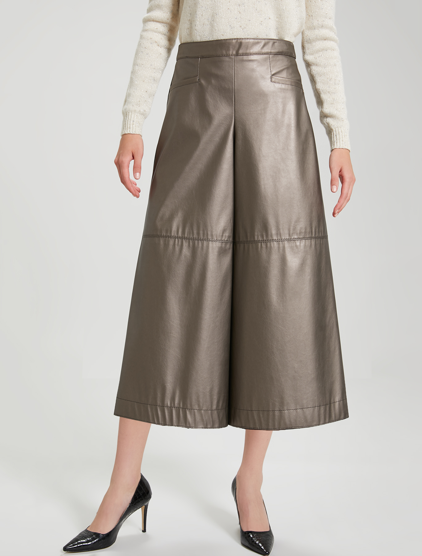 Gonna pantalone in jersey - bronzo - pennyblack