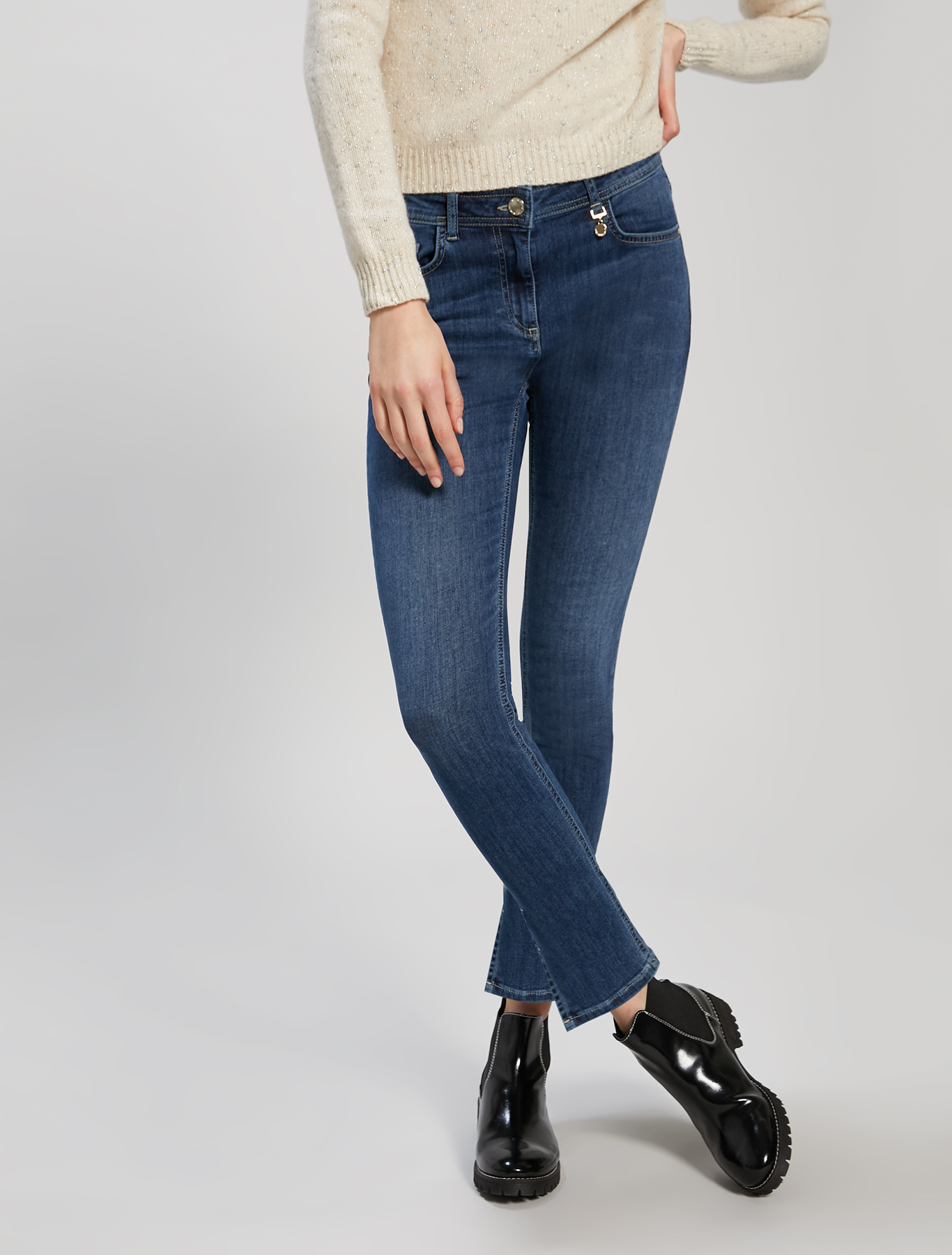Super stretch skinny jeans - midnight blue - pennyblack