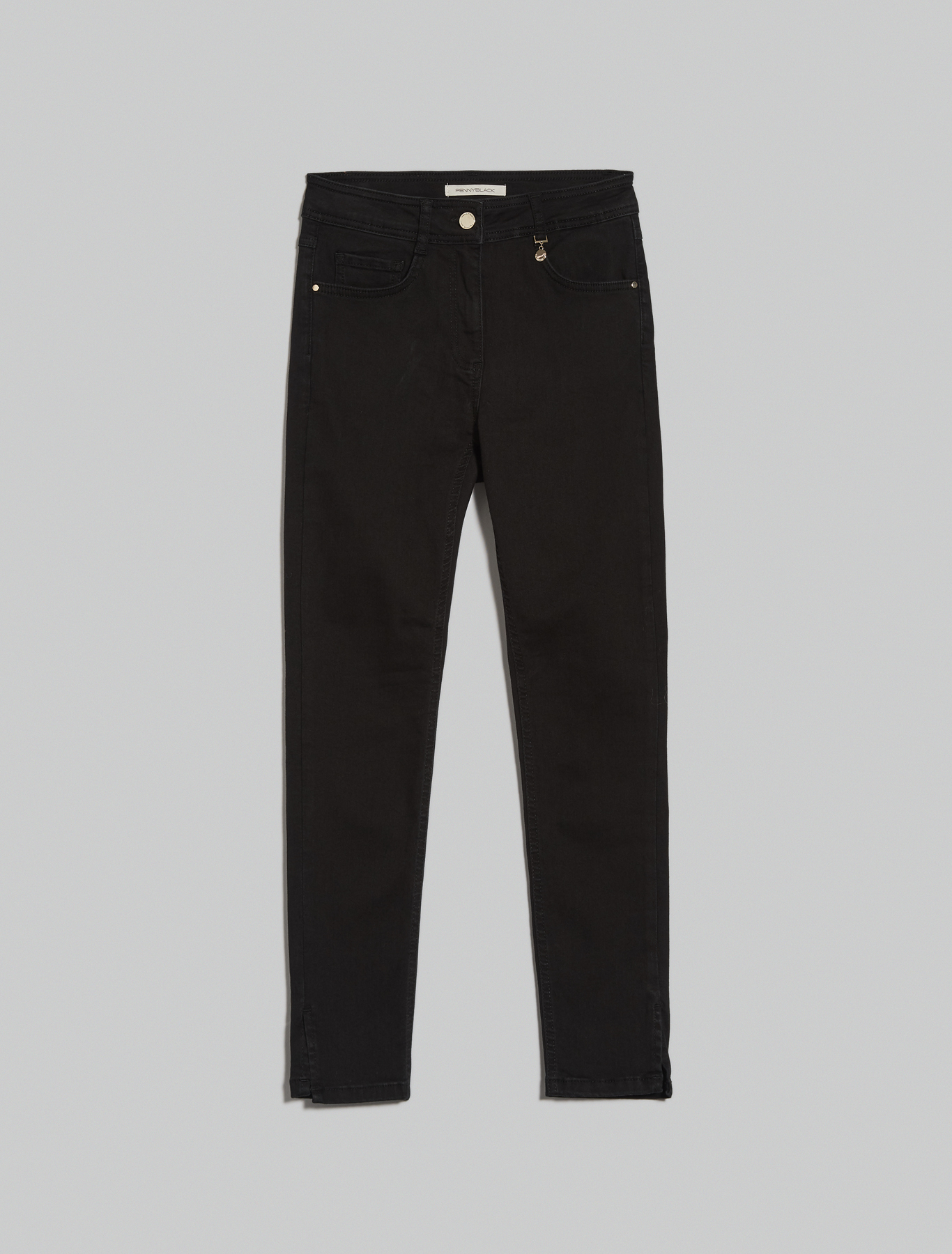 Super stretch skinny jeans - black - pennyblack