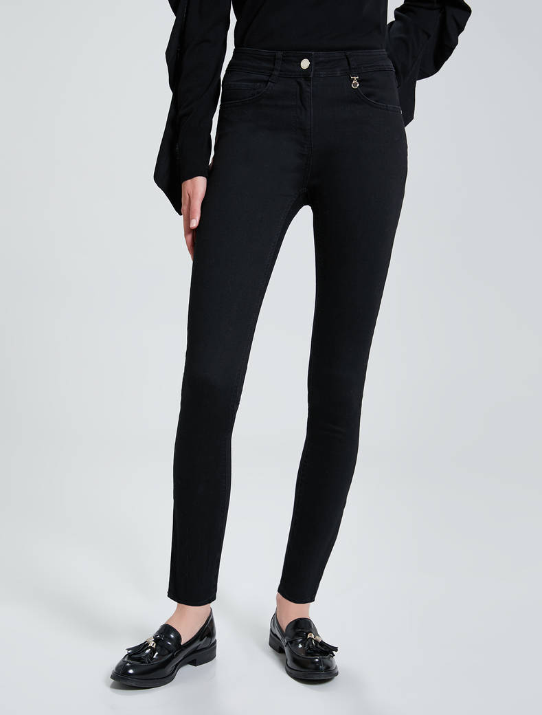 Jeans skinny fit super stretch - nero - pennyblack