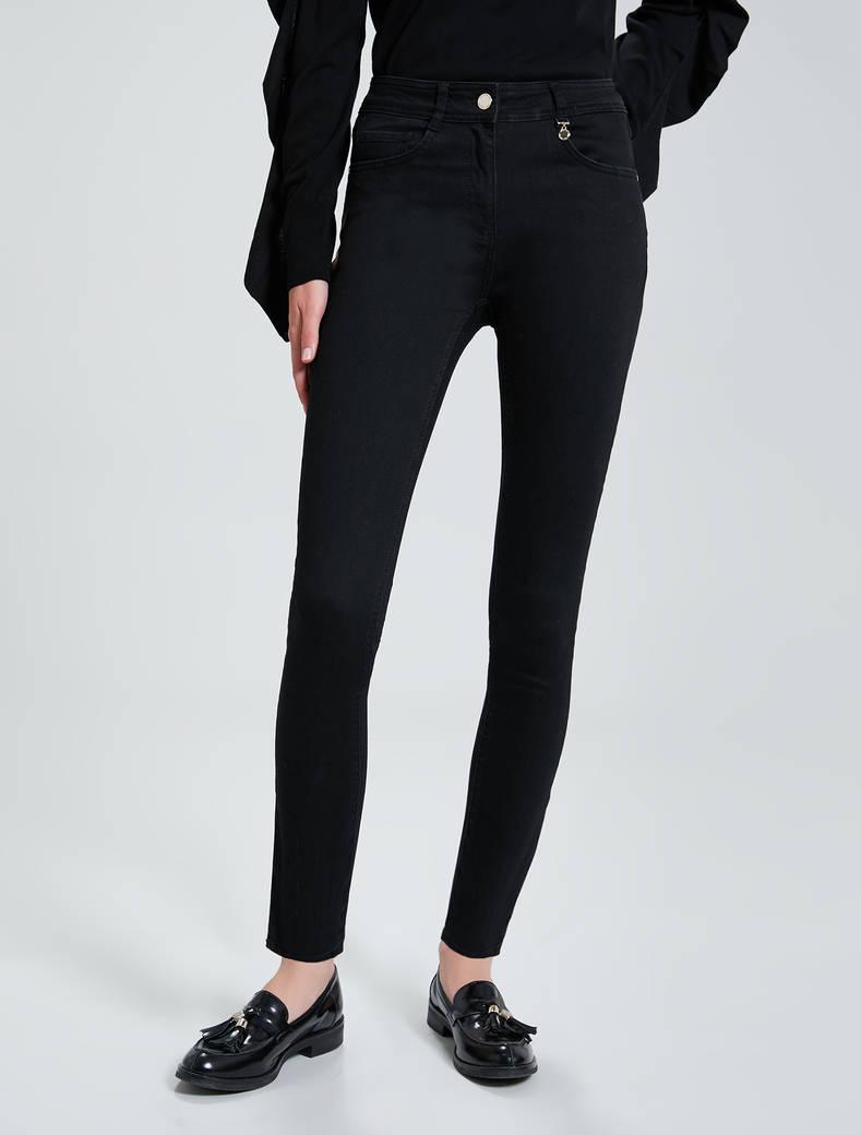 Super stretch skinny jeans - black - pennyblack
