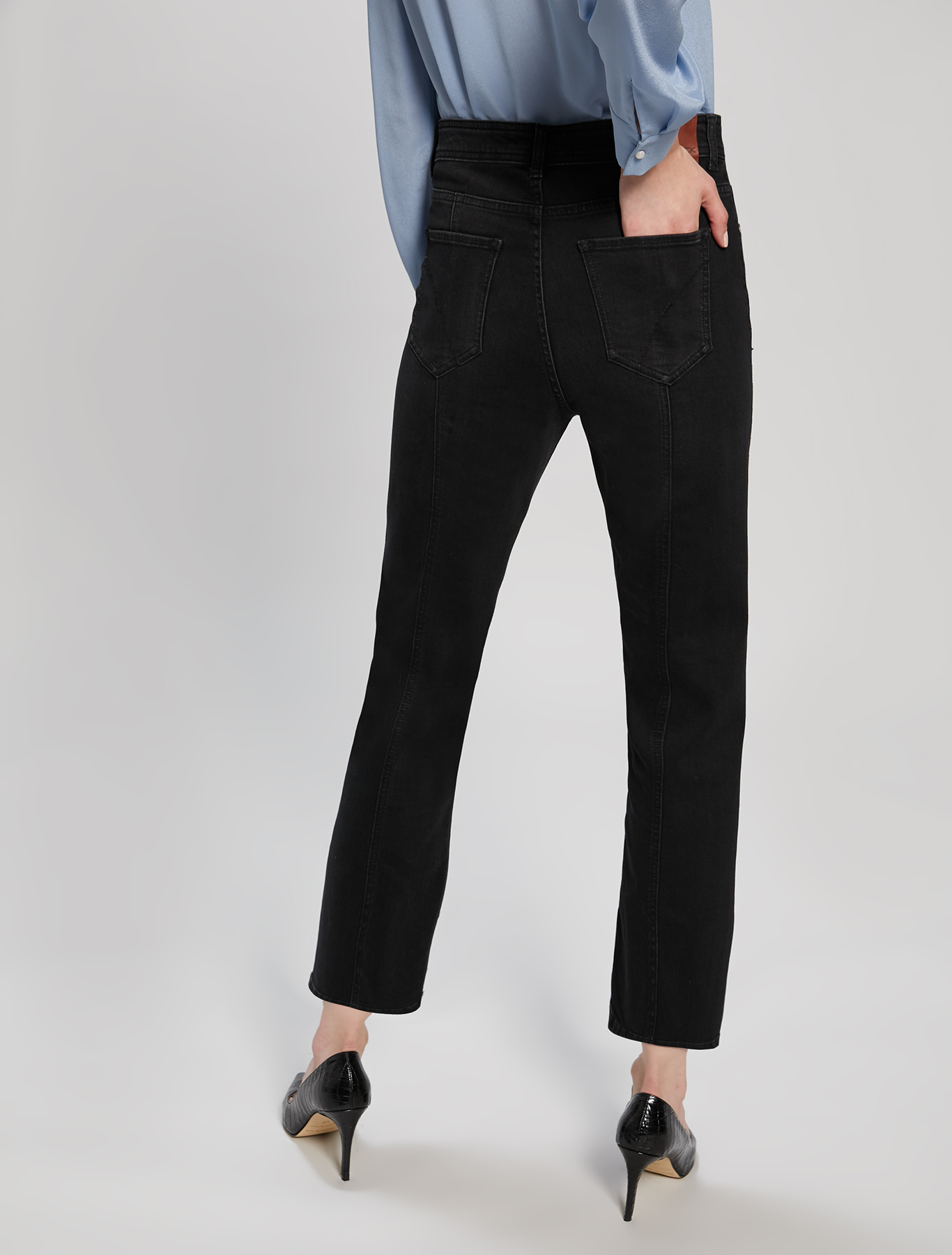 Micro-studded jeans - black - pennyblack