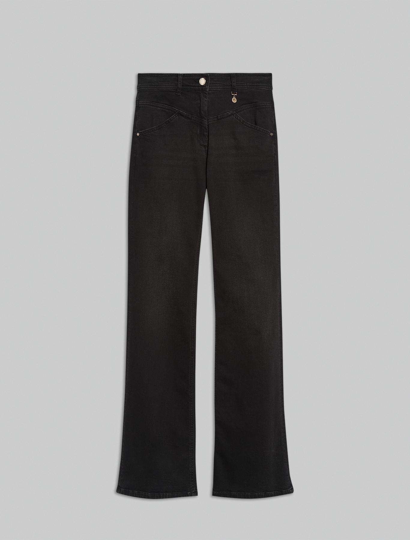 Black bootcut jeans - black - pennyblack