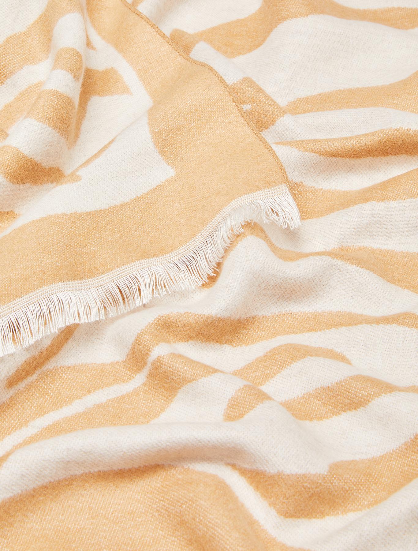 Jacquard stole - beige - pennyblack