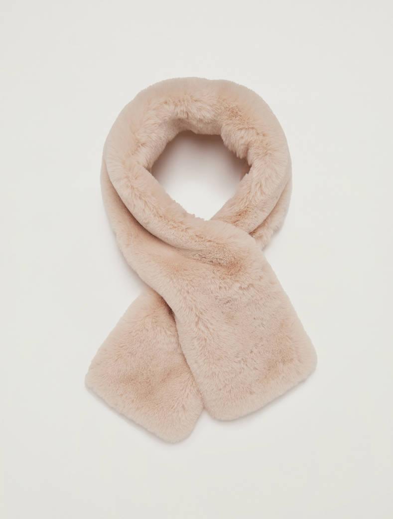Plush collar - ivory - pennyblack
